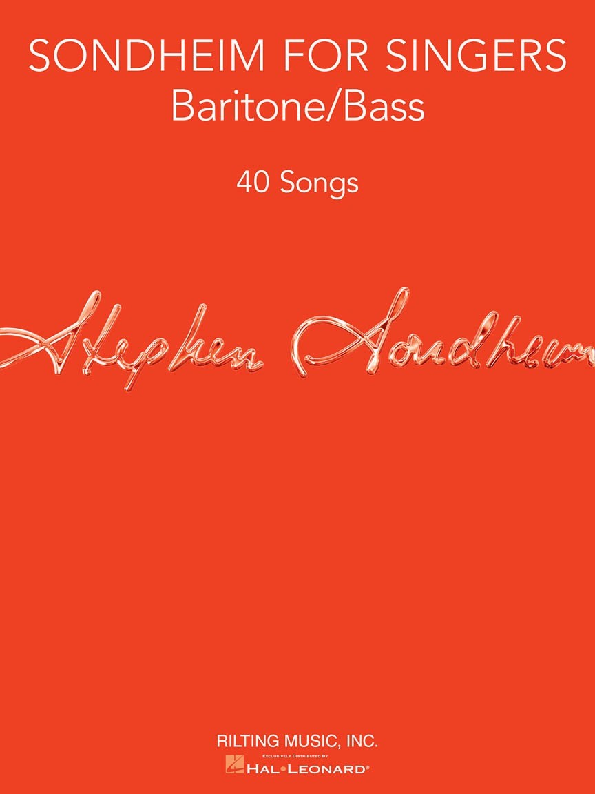 Sondheim for Singers - Baritone/Bass Vocal Collect - 40 Songs