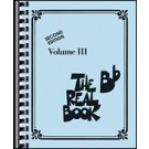 Real Book, Volume 3 in Bb - 2nd Edition