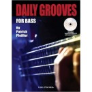 Daily groove for bass - Buch mit CD