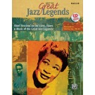 Meet the Great Jazz Legends, Short Sessions on the Lives, Times & Music of the Great Jazz Legends - Buch mit CD