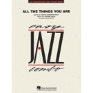 All the things you are - Wonderful standard tune by Jerome Kern - Partitur + Stimmen