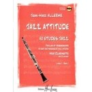 Jazz attitude 1, 40 easy and progressive studies for clarinet - Buch mit CD